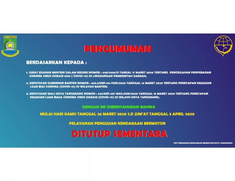 Portal Resmi Informasi Covid 19 Pemerintah Kota Tangerang